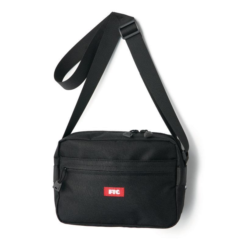 """画像1: FTC """"SHOULDER BAG"""" - BLACK (1)"""