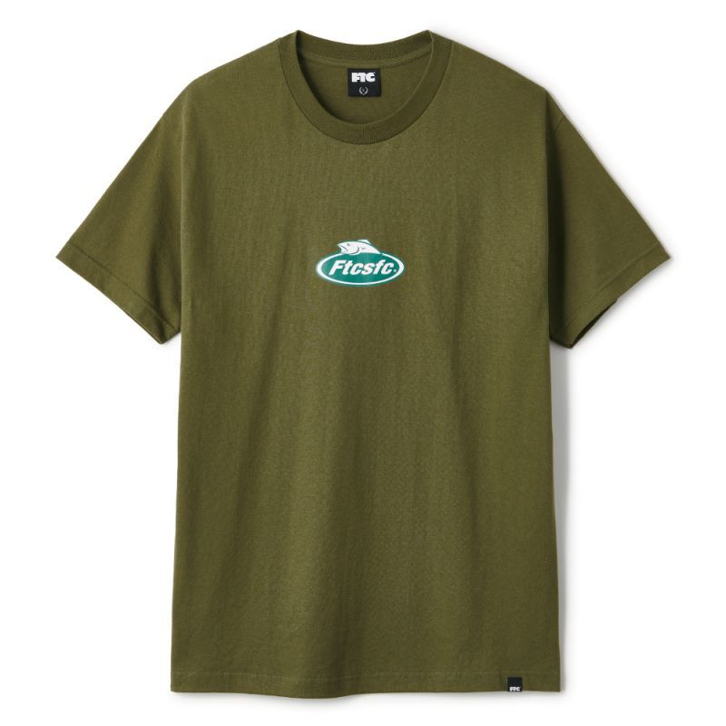 "画像1: FTC ""FISHING GEAR TEE"" - MILITALY GREEN (1)"
