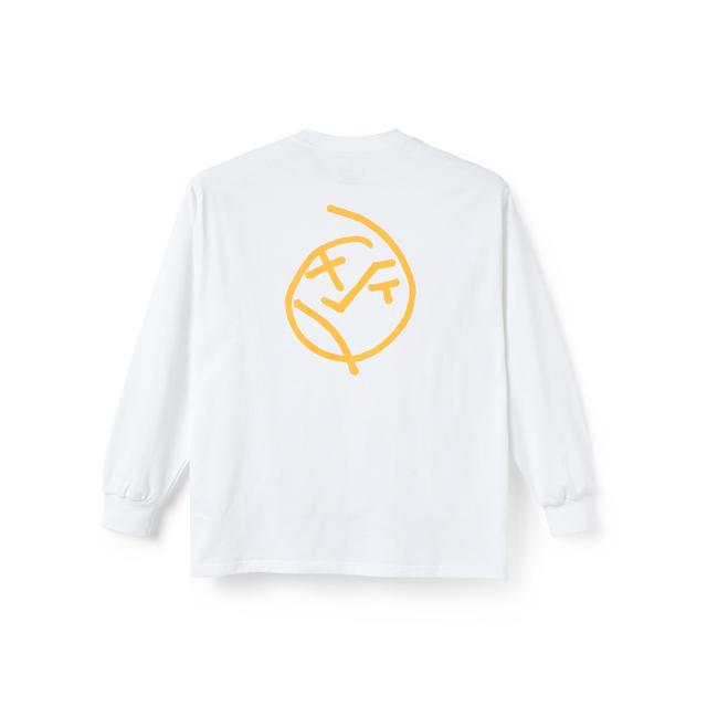 "画像1: POLAR SKATE CO. ""BIG BOY LONGSLEEVE"" - WHITE (1)"