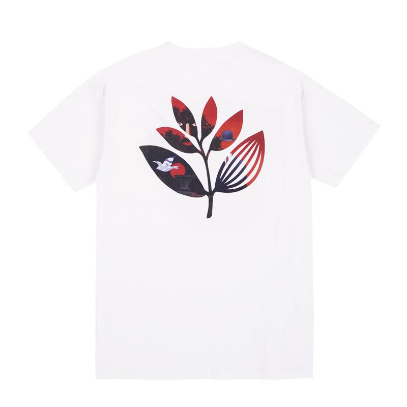 """画像1: MAGENTA SKATEBOARDS """"SURREAL PLANT TEE"""" - WHITE (1)"""