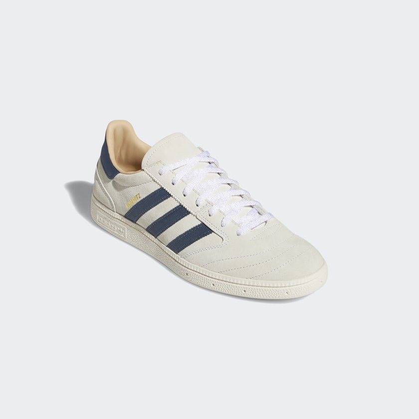 "画像1: ADIDAS ""BUSENITZ VINTAGE SHOES"" - CRYSTAL WHITE / LEGACY BLUE / CHALK WHITE (1)"
