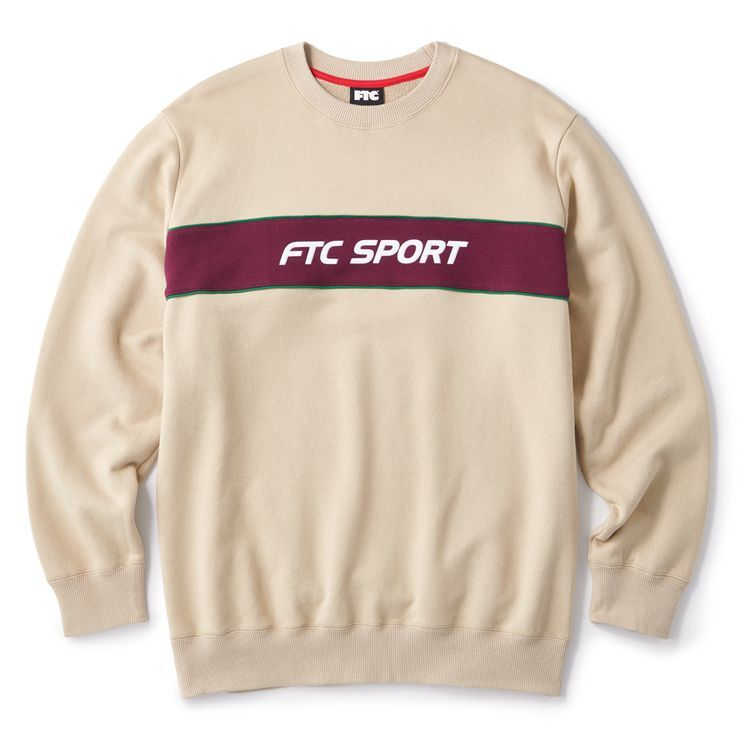 "画像1: FTC ""SPORT CREW NECK"" - TAN (1)"