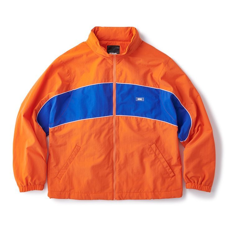 "画像1: FTC ""NYLON TRACK JACKET"" - ORANGE (1)"