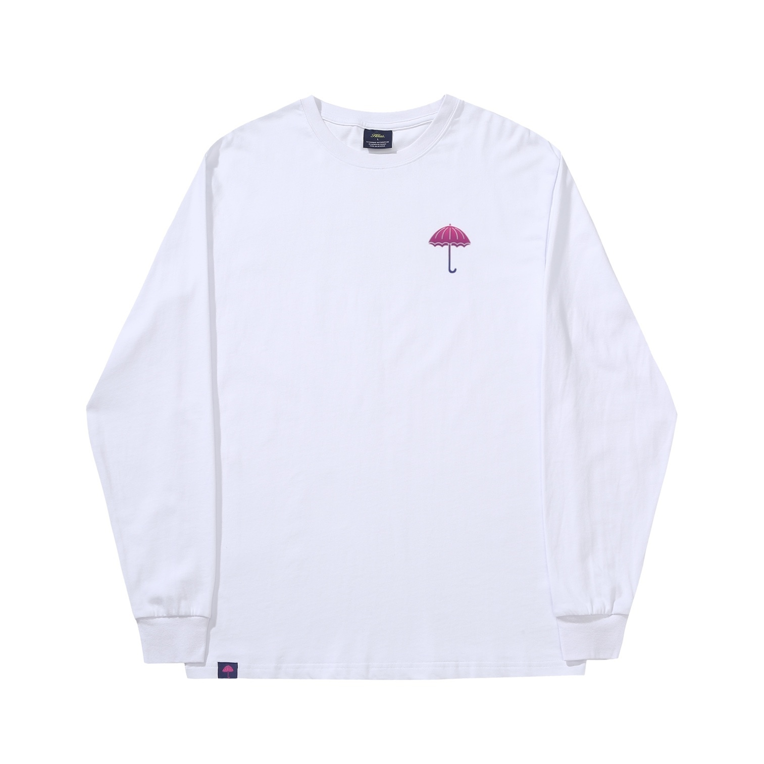 "画像1: HELAS ""DEGRADE LS TEE"" - WHITE (1)"