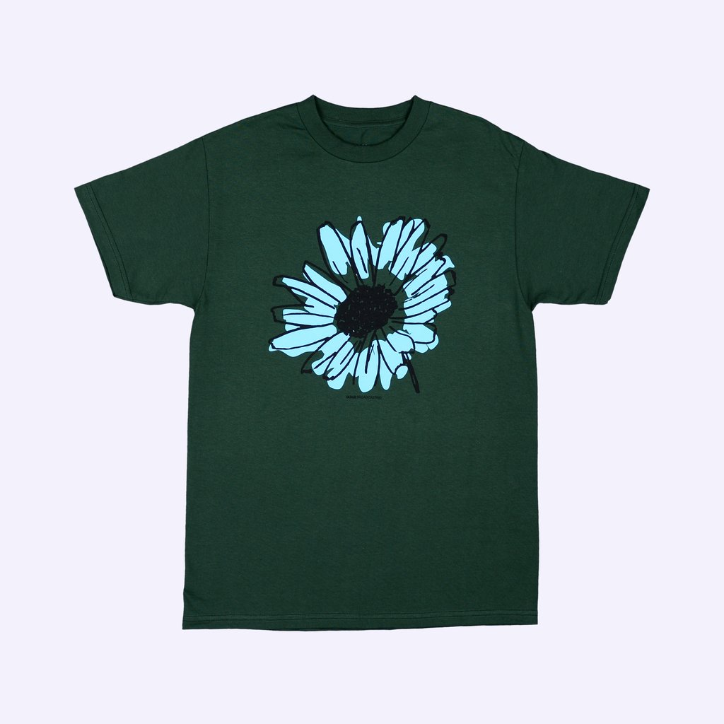 "画像1: QUASI SKATEBOARDS ""FLOWER"" - FOREST GREEN (1)"