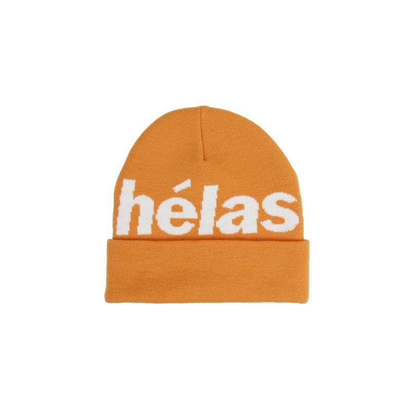 "画像1: HELAS ""REP BEANIE "" - ORANGE (1)"