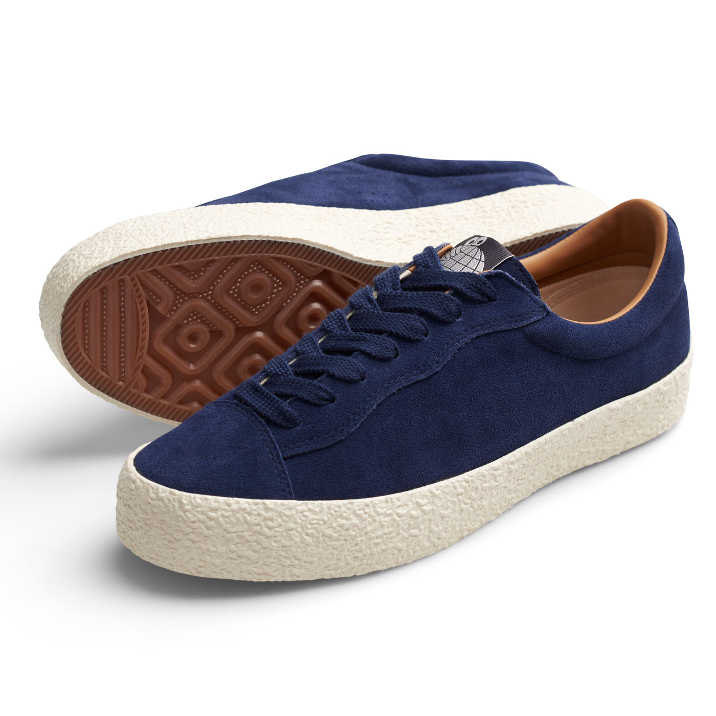 "画像1: LAST RESORT AB ""VM002 SUEDE LO"" - DEEP BLUE / WHITE (1)"