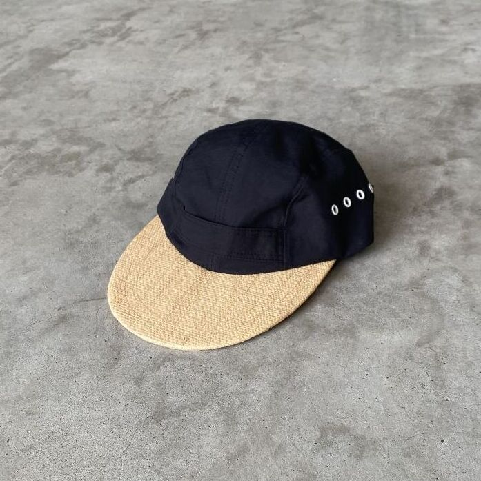"""画像1: NOROLL """"C/L HONK CAP"""" - BLACK (1)"""