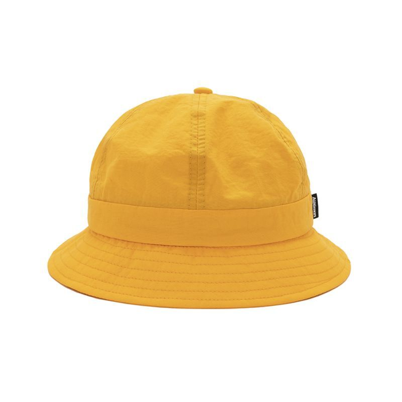 """画像1: ALLTIMERS """"Nylon Broadway Bucket Hat"""" - Mango (1)"""