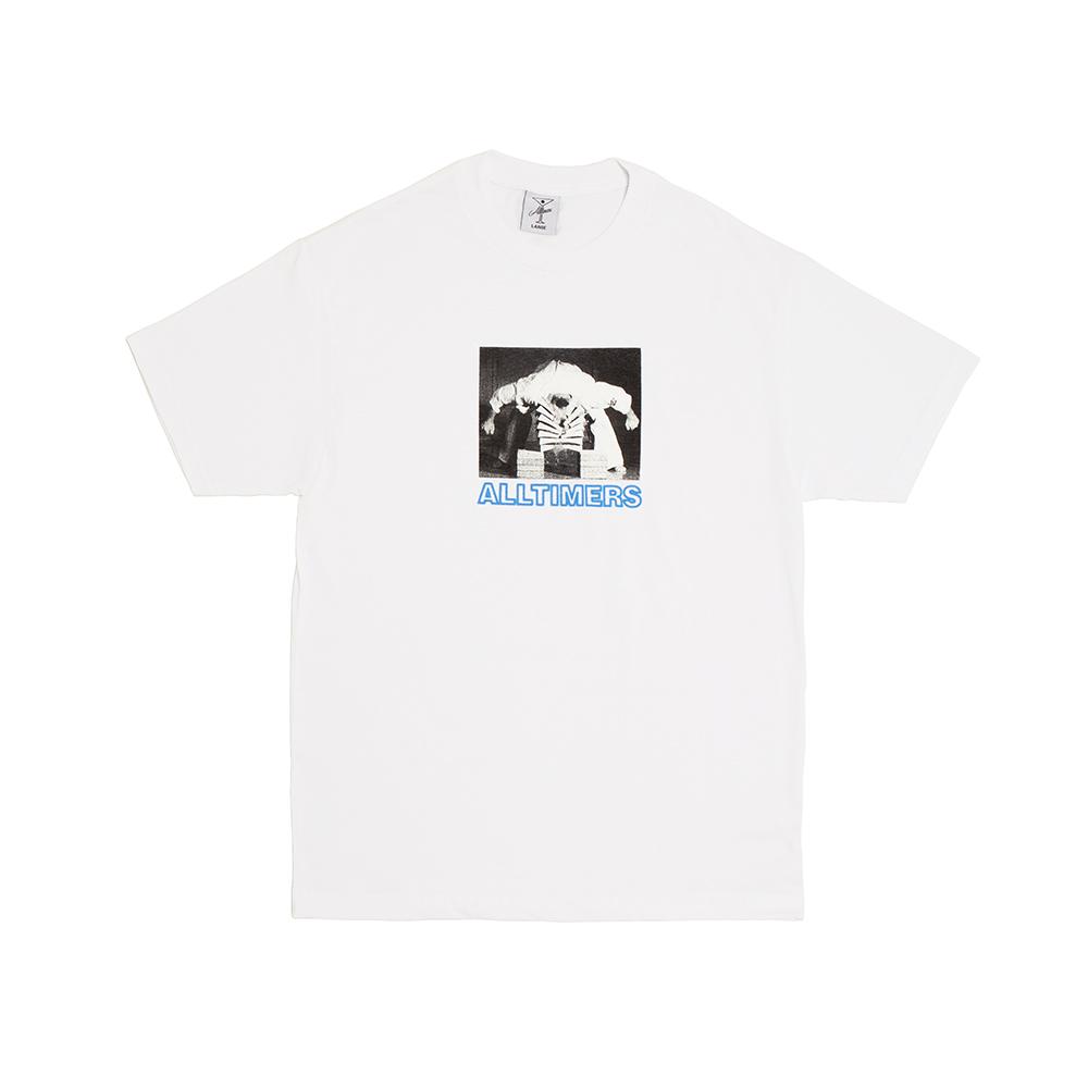"""画像1: ALLTIMERS """"Head Cracker T-Shirt"""" - White (1)"""