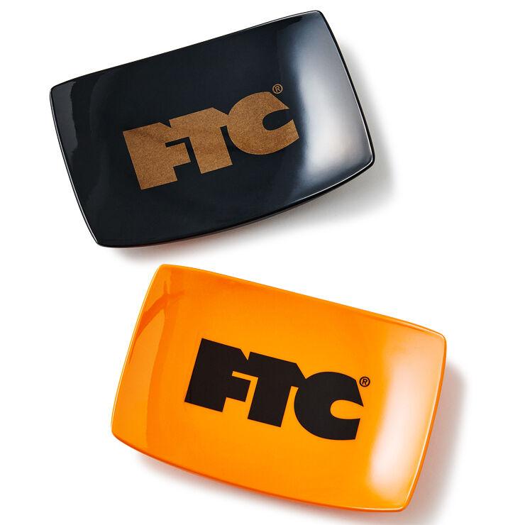 """画像1: FTC """"ROLLING TRAY"""" - BLACK / ORANGE (1)"""