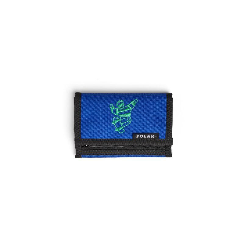 """画像1: POLAR SKATE CO. """"SKATE DUDE KEY WALLET"""" - BLUE (1)"""