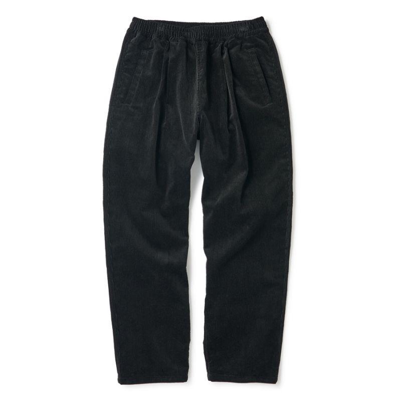 """画像1: FTC """"CORDUROY EASY PANTS"""" - BLACK (1)"""